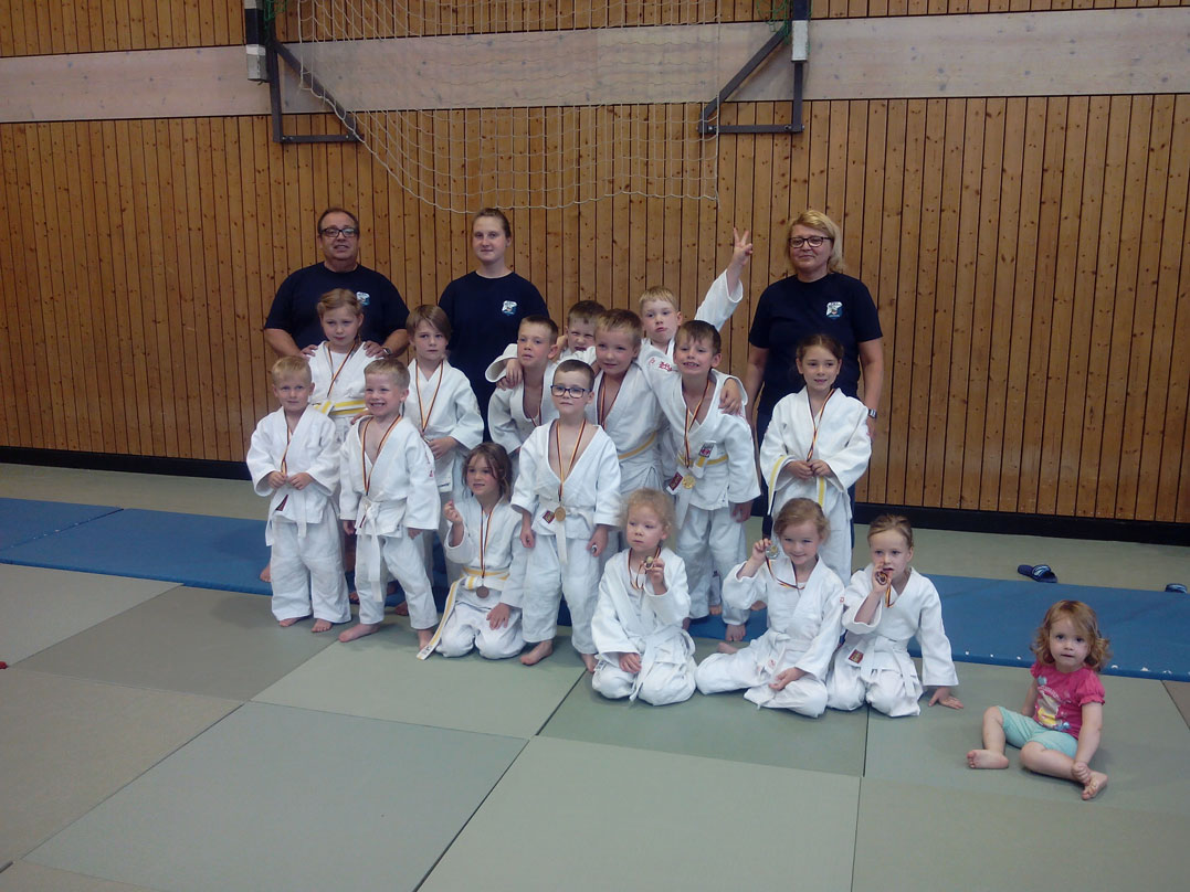 1. Kinder-Randori in Naumburg
